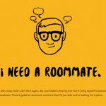 大学敷地内でルームメイトハント!?ifwewereroommates.com